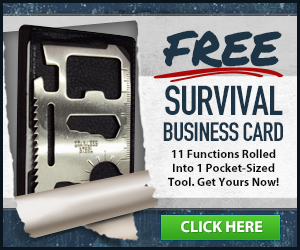 Free Survival Business Card
