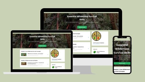 Essential Wilderness Survival Skills Online Course | Alderleaf Wilderness College | Primal Survival Secrets
